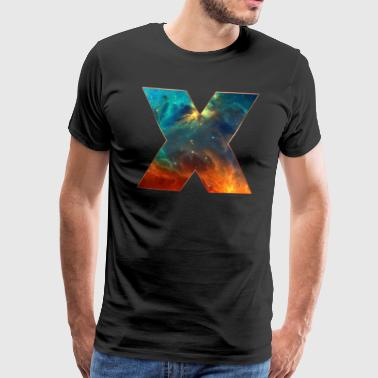 Space X, cosmos, universe, space, galaxy - Men's Premium T-Shirt