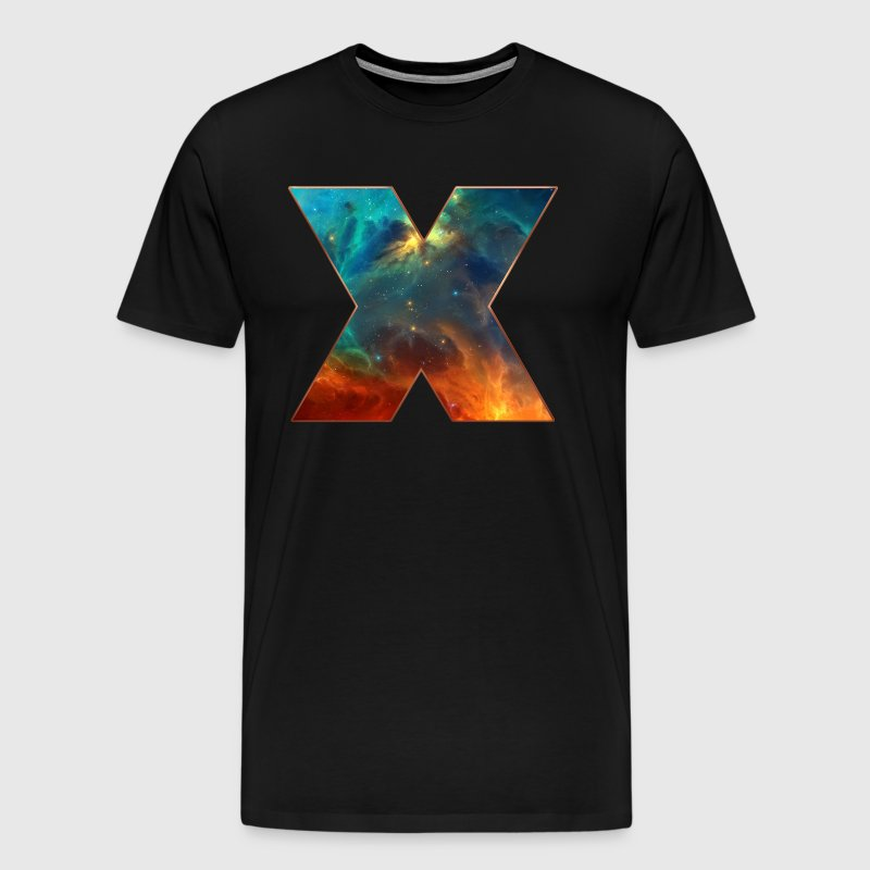 Space X, cosmos, universe, space, galaxy - T-shirt Premium Homme