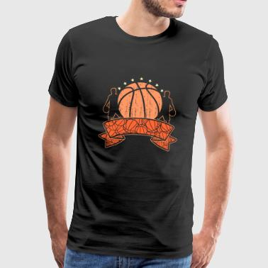 Équipe de basket-ball de basket-ball - T-shirt Premium Homme