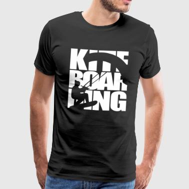 Kite boarding kite surfing kiteboard - Men's Premium T-Shirt