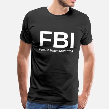 female_body_inspector - Mannen Premium T-shirt