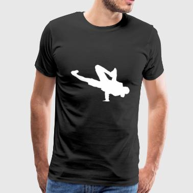 Breakdance Breaking B-Boying B-Girling Hip-Hop - Männer Premium T-Shirt