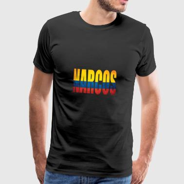 Narcos Colombia - Men's Premium T-Shirt