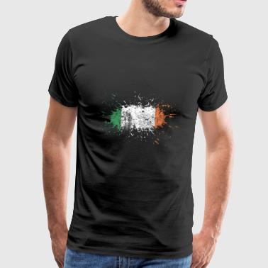 Ireland flag irsk flagg irsk gave - Premium T-skjorte for menn