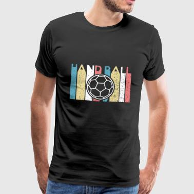Awesome Unique handball - Men's Premium T-Shirt