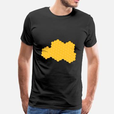Honeycomb honeycomb - Men's Premium T-Shirt