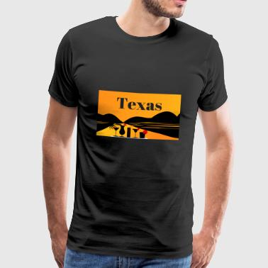 Texas - Premium T-skjorte for menn
