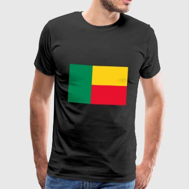 Benin Benin flag - Men's Premium T-Shirt