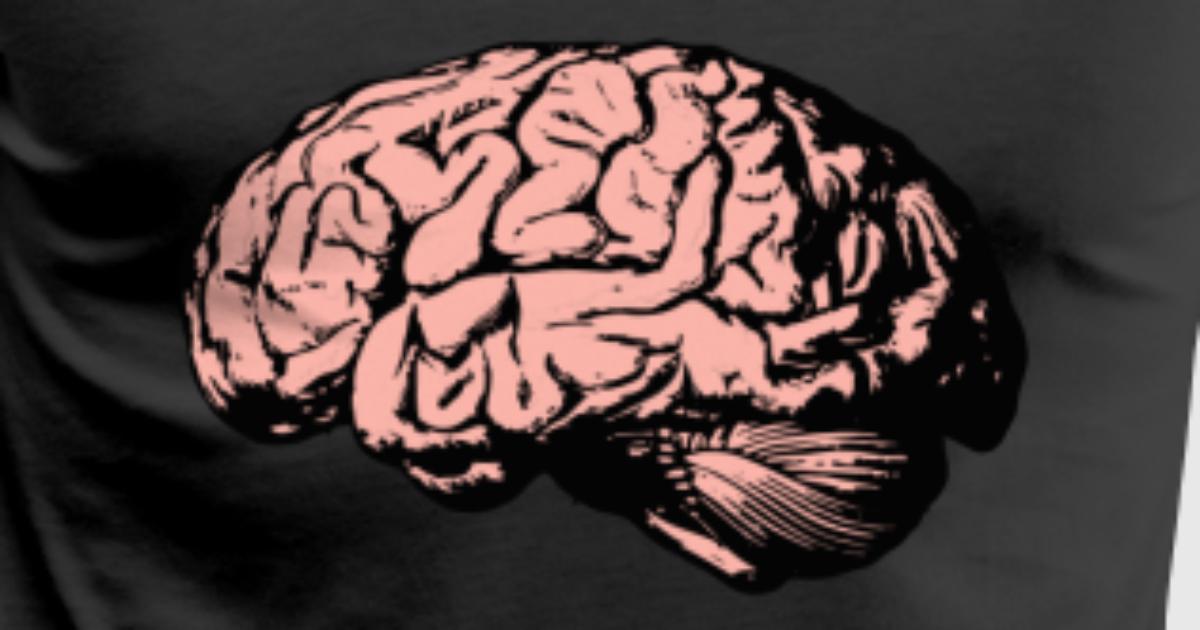 Cerebro, anatomía, dibujo, médico por haukepauke | Spreadshirt