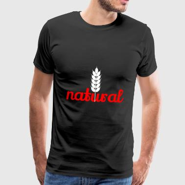naturel - T-shirt Premium Homme