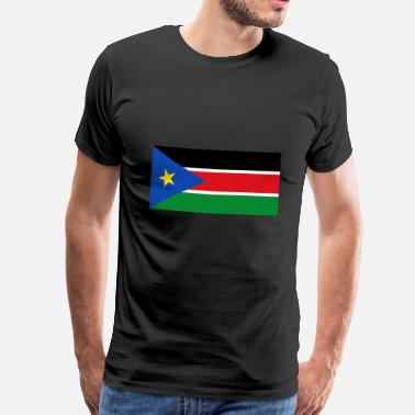 Sydsudan South Sudan Flag - Herre premium T-shirt