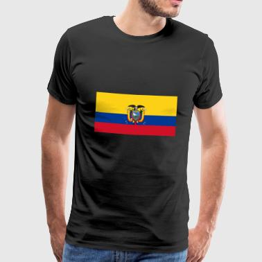 Ecuador Flag - Men's Premium T-Shirt