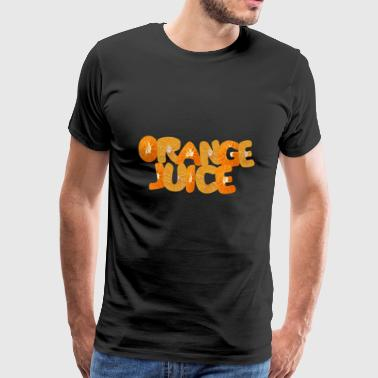 Jus d'orange t-shirt - Mannen Premium T-shirt