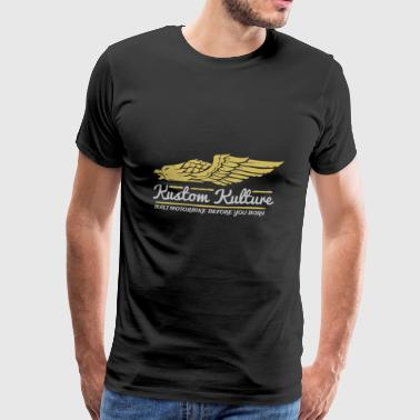 Kustom Kulture Eagle - Men's Premium T-Shirt