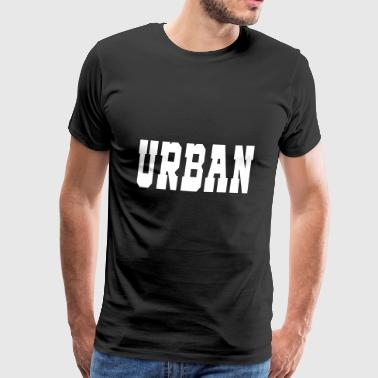 Urban - Premium T-skjorte for menn