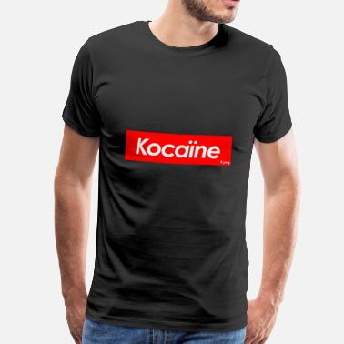 Cocaine sportswear brand by cocain&pussy - T-shirt Premium Homme
