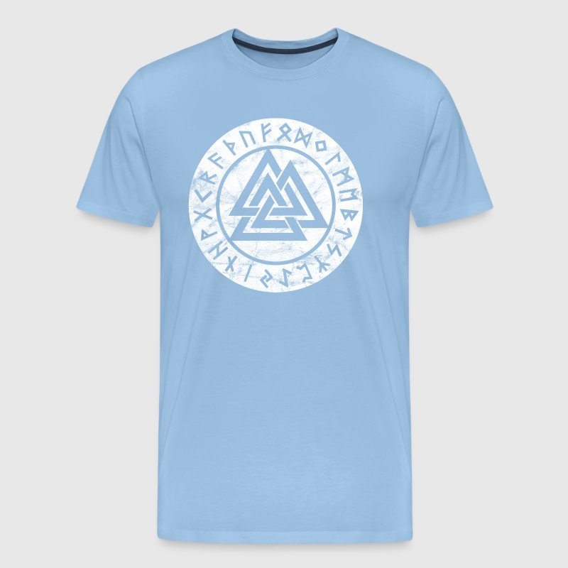 Valknut Vikings Odin Thor Vintage Symbol Sign By By Yuma Spreadshirt