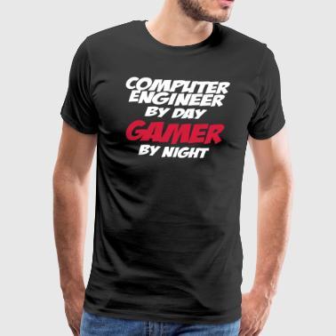 PC COMPUTER ENGINEER GAMER ZOCKER GIFTS SHIRT - Camiseta premium hombre