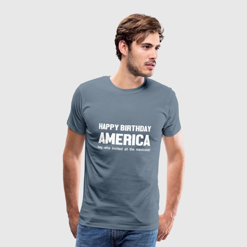 Happy Birthday America 4 Juli Von House Of Shirts