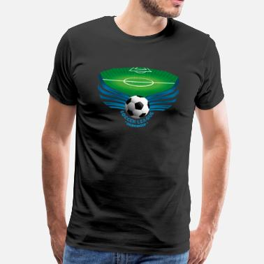 League Of Legends Soccer League - Men's Premium T-Shirt