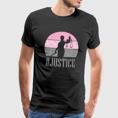 Justice Jura Gift saying Hashtag fair - Men's Premium T-Shirt