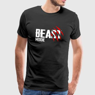 Beast Fashion - Mannen Premium T-shirt