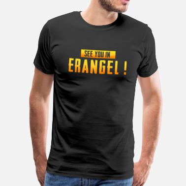 see you in erangel - Männer Premium T-Shirt