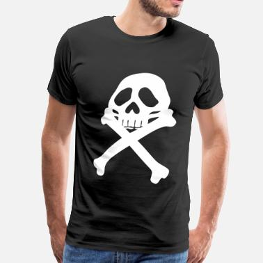 Pirate Pirate flag - Men's Premium T-Shirt