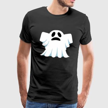 Heren Little Ghost Shirt Zwart - Mannen Premium T-shirt