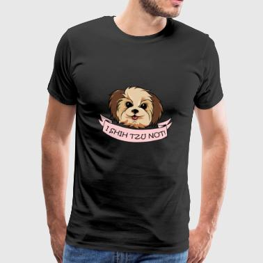 Shih Tzu Dog Pet Dog Love Dog Cute Gift - Men's Premium T-Shirt