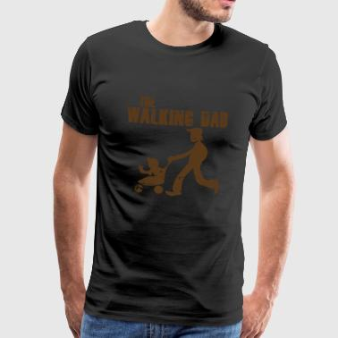 Daddies DAD LOPEND - Mannen Premium T-shirt