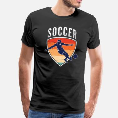 Kicker football - T-shirt Premium Homme