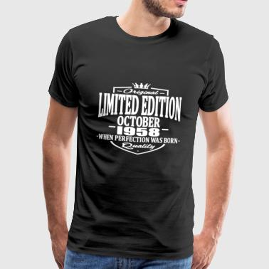 Limited edition october 1958 - Men's Premium T-Shirt