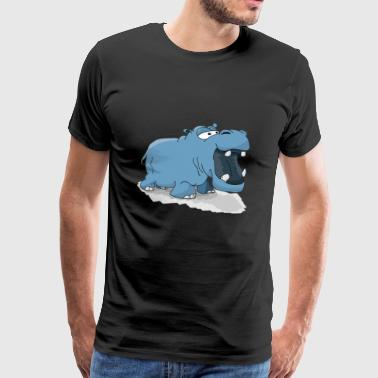 hippo - Men's Premium T-Shirt