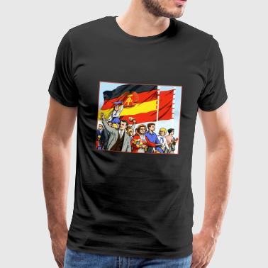 DDR-parade - Premium T-skjorte for menn