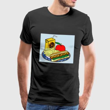 lunch time - Men's Premium T-Shirt
