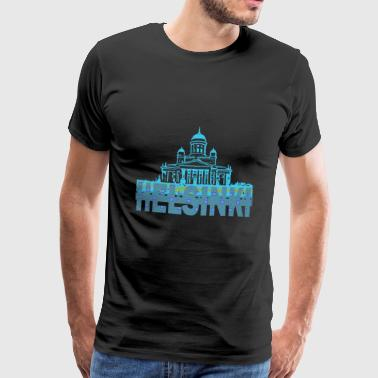 Helsinki Cathedral - Men's Premium T-Shirt