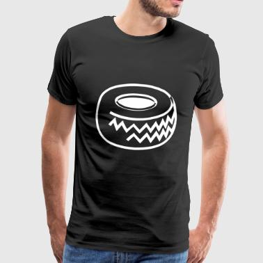 car tire - Men's Premium T-Shirt