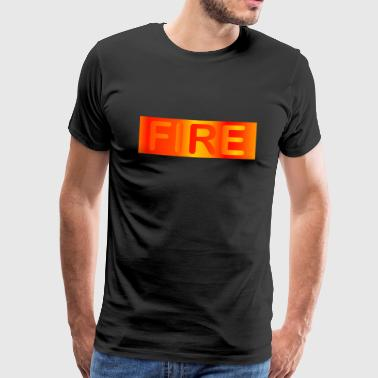 Fire / fire - Men's Premium T-Shirt