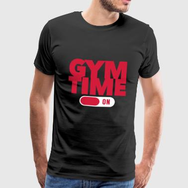 Gym Time - Bodybuilding - Fitness - Maglietta Premium da uomo