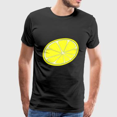 Summer Logo Lemon slice summer summer summer summer summer - Men's Premium T-Shirt