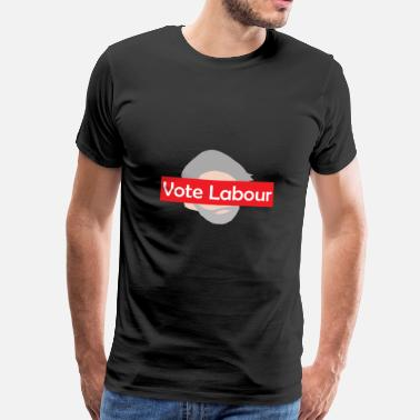 Labour Vote Labour / Jeremy Corbyn - Men's Premium T-Shirt
