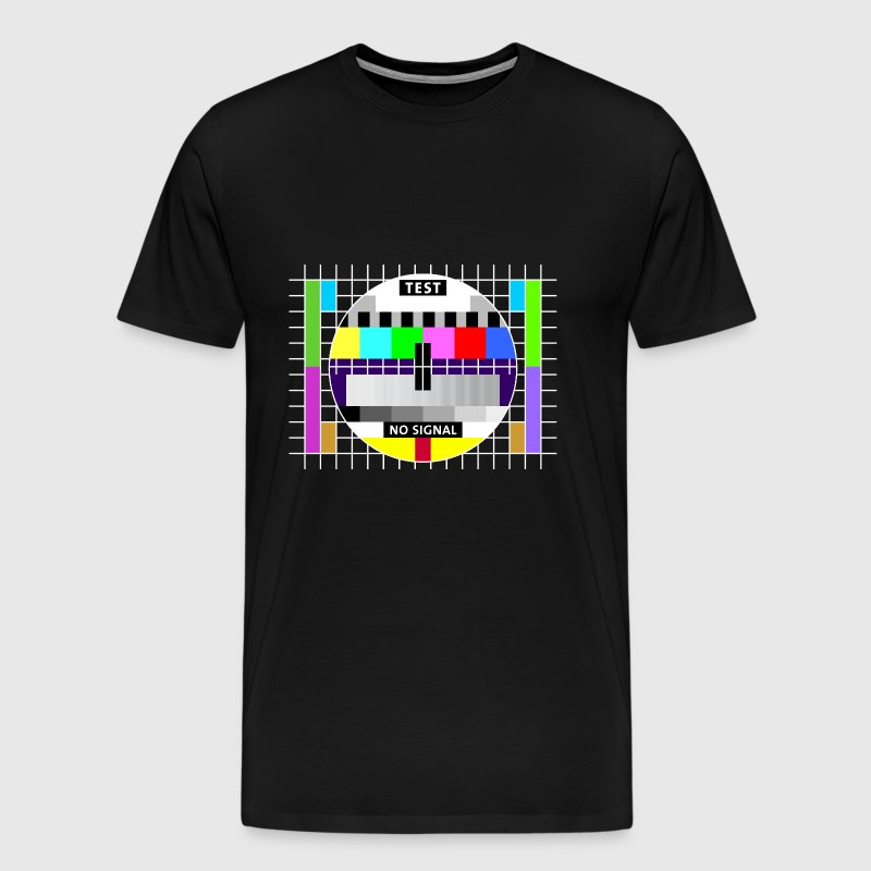 Test image display screen test card signal Big Bang - Men's Premium T-Shirt