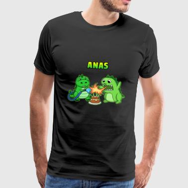 Anas birthday gift - Men's Premium T-Shirt