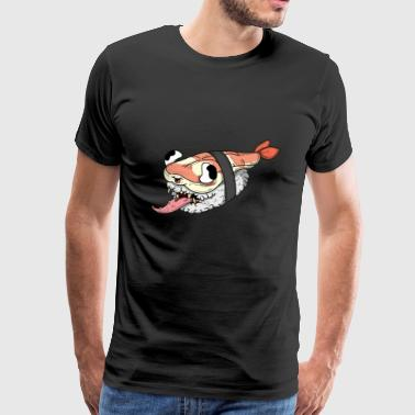 Sushi monster - Mannen Premium T-shirt