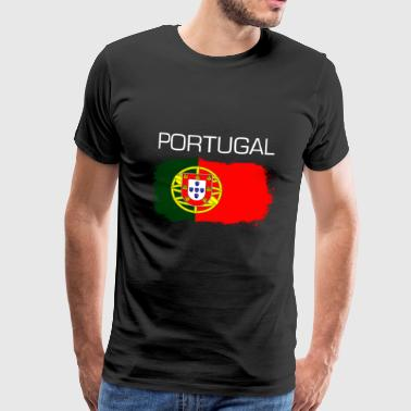 Cadeau de fan de football du Portugal - T-shirt Premium Homme