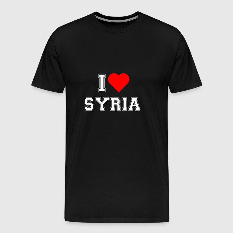 I love Syria - Men's Premium T-Shirt