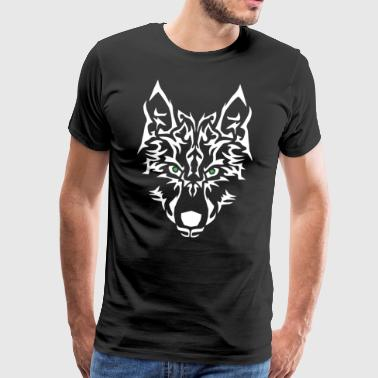 Wolf Power. Easy to personalise. - Men's Premium T-Shirt