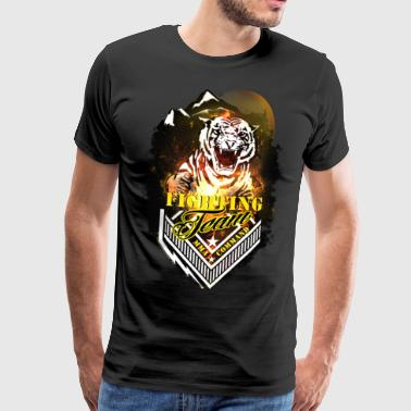Fighting team - Premium-T-shirt herr