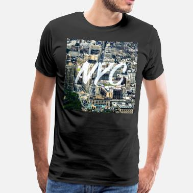 Empire State Building NYC New York Times Square Geschenk - Männer Premium T-Shirt